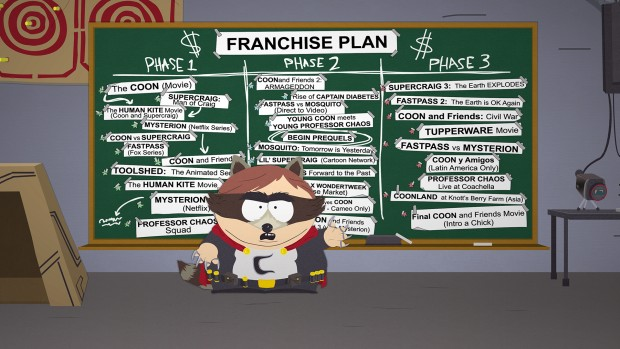 South Park: The Fractured But Whole's franchise plan