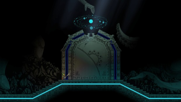 Starbound's giant door