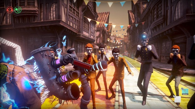 We Happy Few's angry crowds
