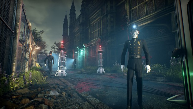 We Happy Few's scary police officers