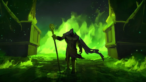 World of Warcraft's Harbingers animated short Gul'dan screenshot