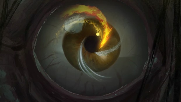 Gul'dan's eye from the Harbingers short