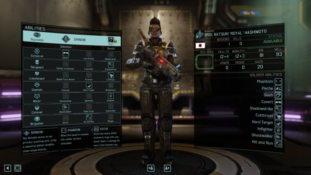 XCOM 2 shinobi custom class as a part of the perk pack