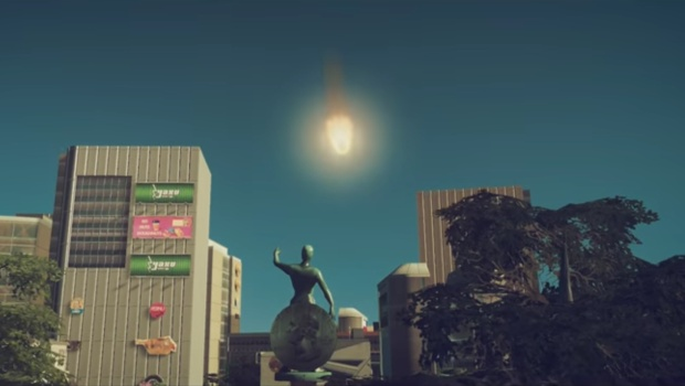 Cities: Skyline's newest DLC brings forth meteor showers