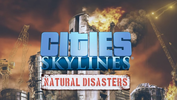 Natural Disasters logo for Cities: Skylines DLC