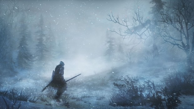 Ashes of Ariandel screenshot from Dark Souls 3