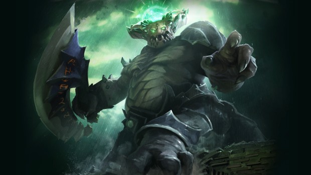 Dota 2's Vorgos the Underlord art work