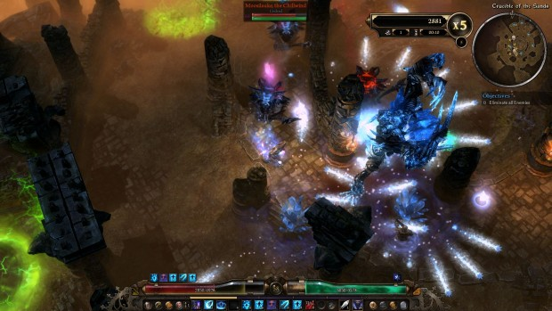 Grim Dawn's first DLC Crucible Mode is a challenging new