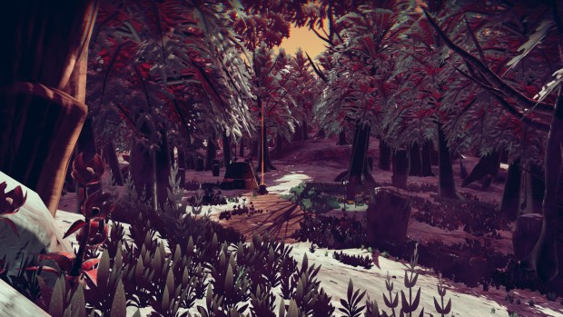No Man's Sky's BiggerThings mod is full of giant trees