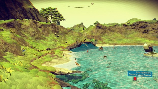 No Man's Sky has some lovely scenery