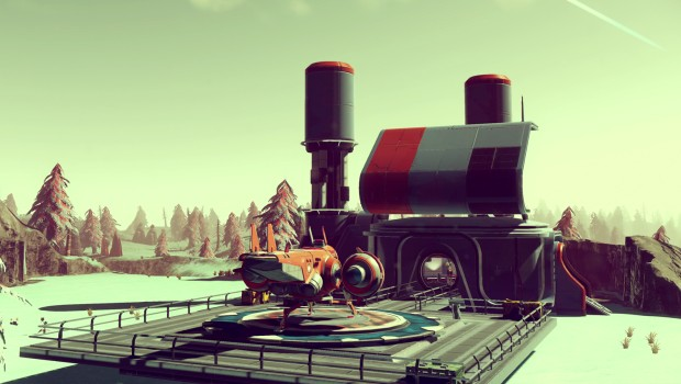No Man's Sky ship design screenshot