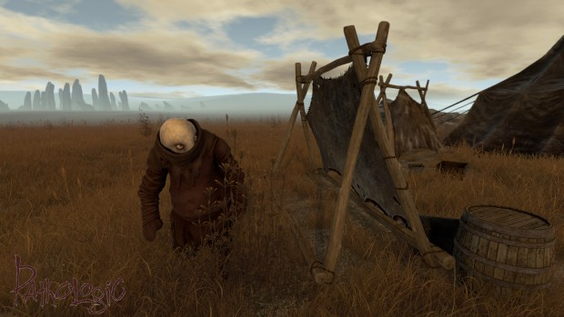 A strange creature from the upcoming Pathologic game