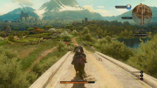 The Witcher 3 has some gorgeous graphics
