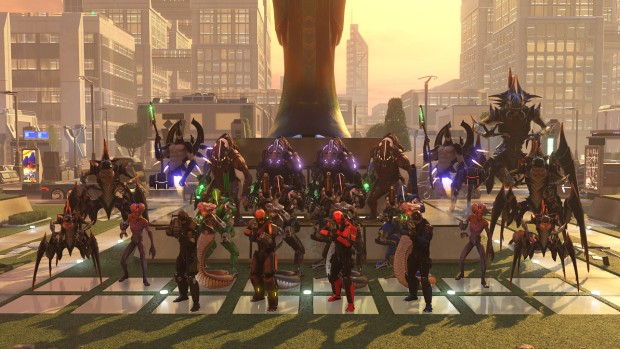 XCOM 2 Long War Alien Pack screenshot of all enemies