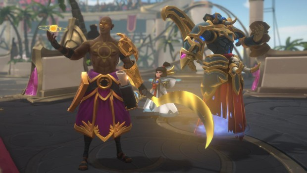 Battlerite screenshot showcasing three different heroes