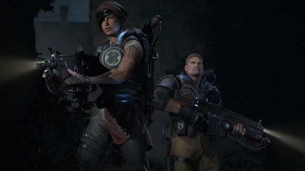 Gears of War 4 campaign multiplayer screenshot
