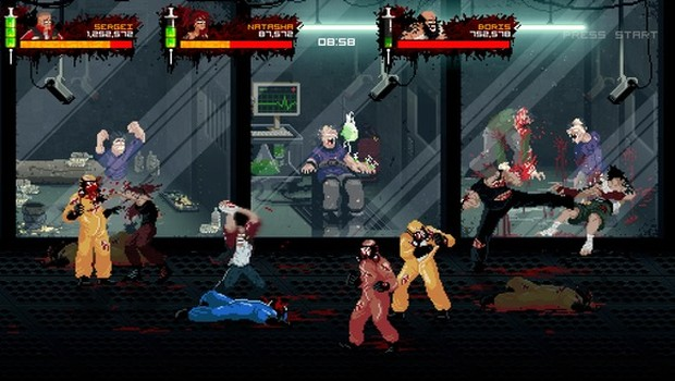 Mother Russia Bleeds gameplay screenshot