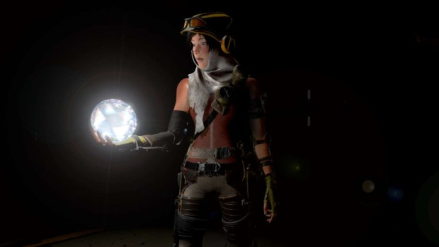 ReCore's screenshot of the main character