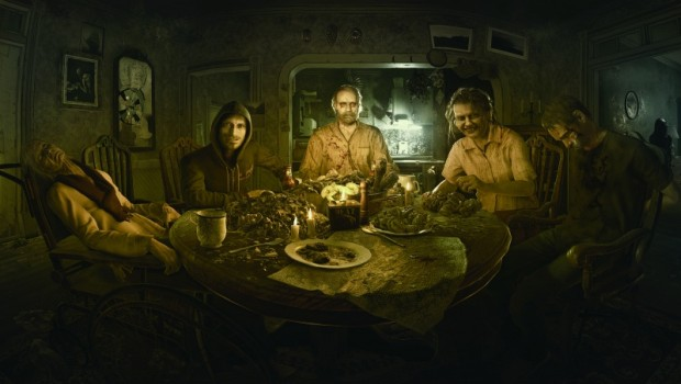 Resident Evil 7 official artwork