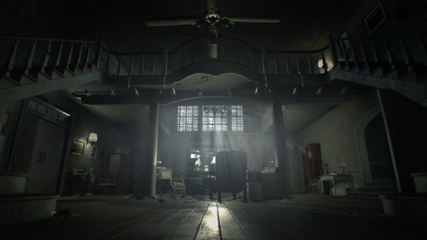 Resident Evil 7 Biohazard screenshot of a haunted house