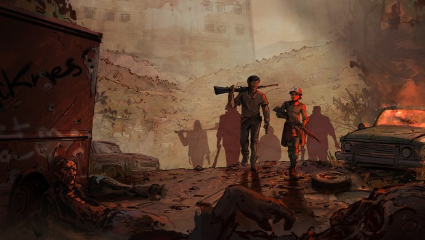 The Walking Dead Season 3 official artwork