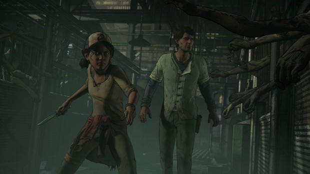 The Walking Dead Season 3 slaughterhouse screenshot
