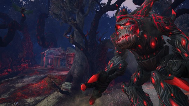 World of Warcraft: Legion's corrupted treants