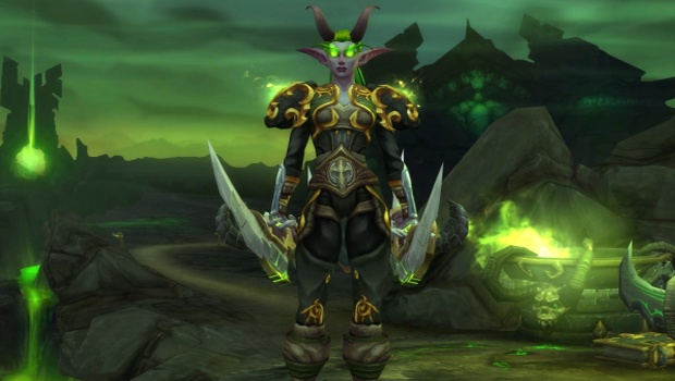 World of Warcraft Night Elf Demon Hunter