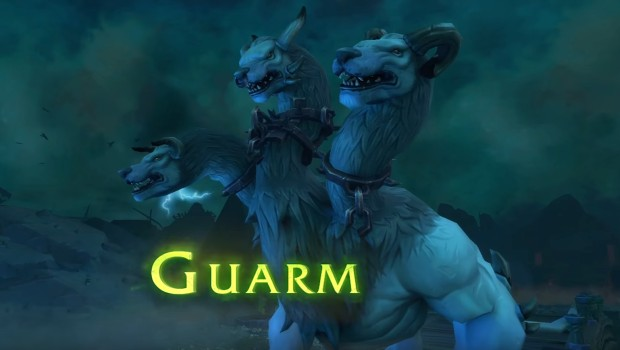 World of Warcraft's Trial of Valor raid boss Guarm