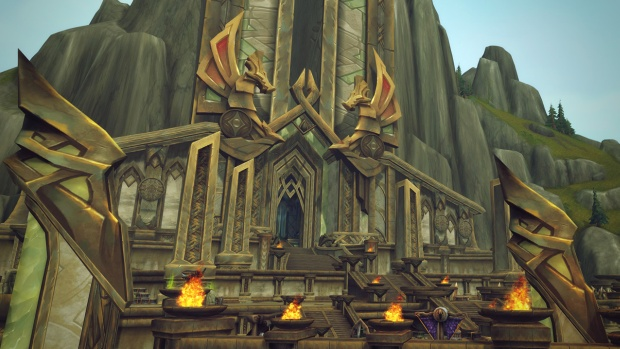 World of Warcraft: Legion's Halls of Valor dungeon