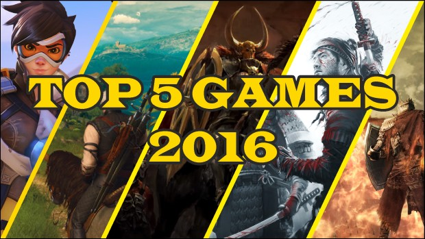 Gamesear's top 5 PC games from 2016 cover art
