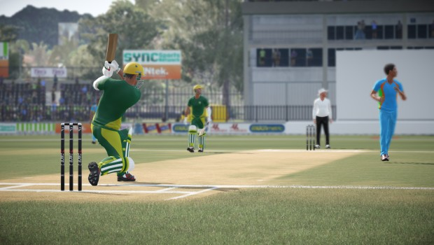 Don Bradman Cricket 17 screenshot of a game in progress