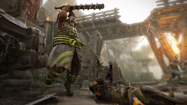 For Honor screenshot showing the Shugoki in action