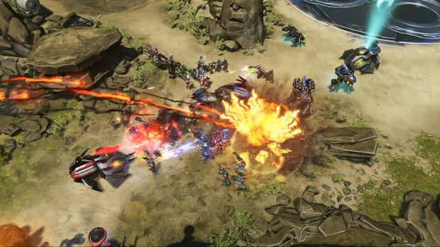 Halo Wars 2 Blitz beta combat gameplay screenshot