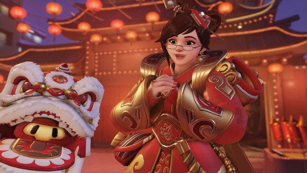Mei and snowball skin from Overwatch Year of the Rooster update