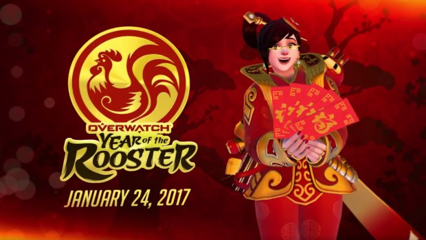 Mei's new skin from Overwatch's Year of the Rooster update