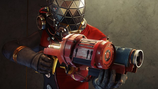 Prey screenshot featuring the Gloo cannon weapon