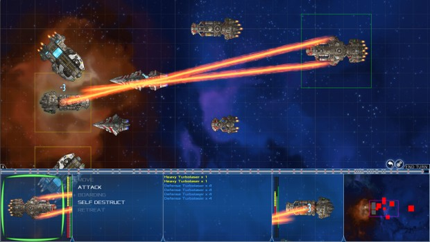 Stars in Shadow screenshot featuring turn-based combat