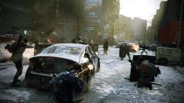 The Division screenshot featuring the Last Stand game mode