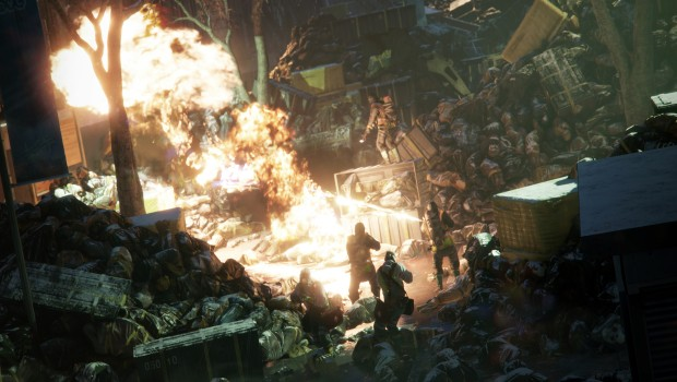The Division flamethrower screenshot