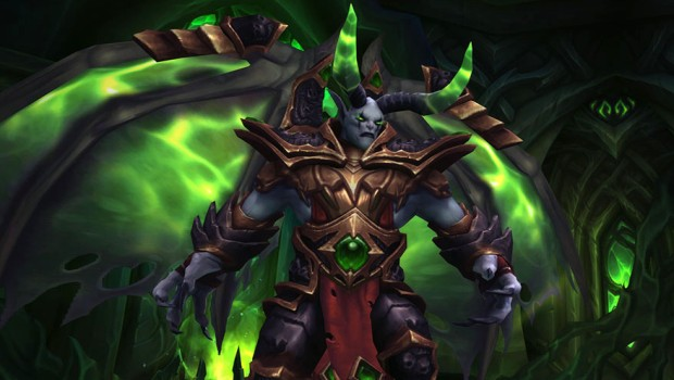 World of Warcraft's Dreadlord Tichondrius