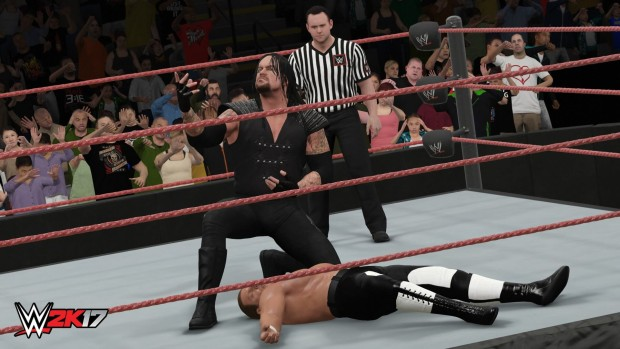WWE 2K17 screenshot from the PC version