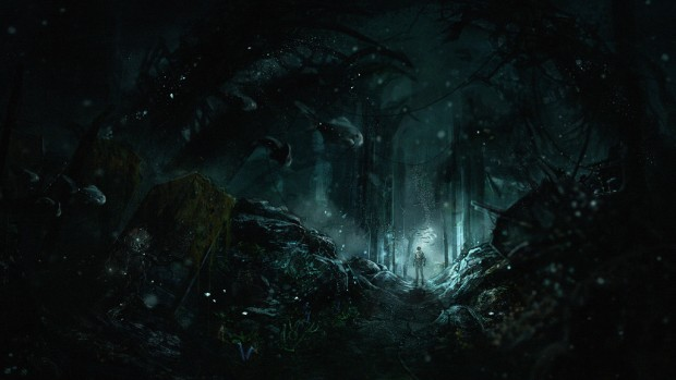 A highly atmospheric image of Frictional Games' SOMA