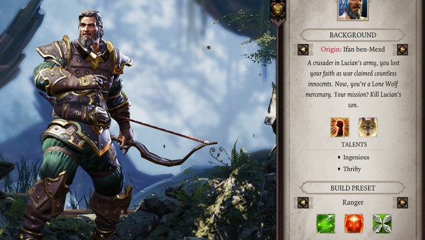Divinity: Original Sin 2 screenshot of Ifan Ben-Mezd