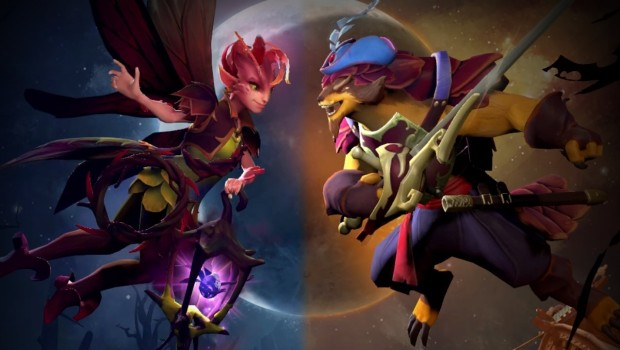 Dota 2 artwork for the Dueling Fates update