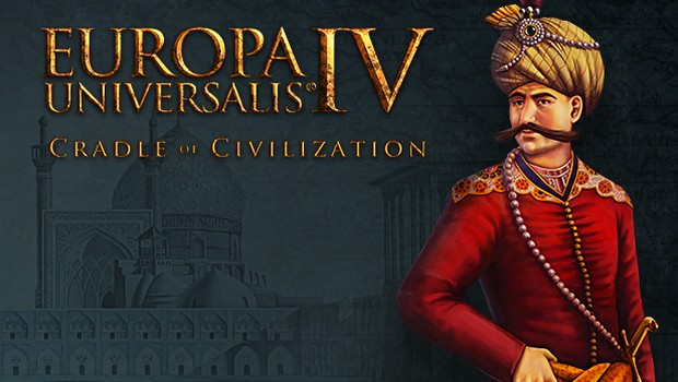 Europa Universalis IV official artwork and logo for the Cradle of Civilization expansion