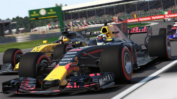 F1 2017 official screenshot taken from the PC version