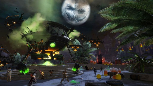 Guild Wars 2's Shadow of the Mad King event screenshot
