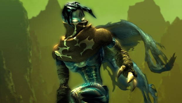 Official artwork of Raziel from the Legacy of Kain: Soul Reaver artwork