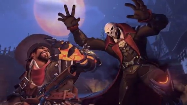 Halloween Terror screenshot of McCree and Reaper